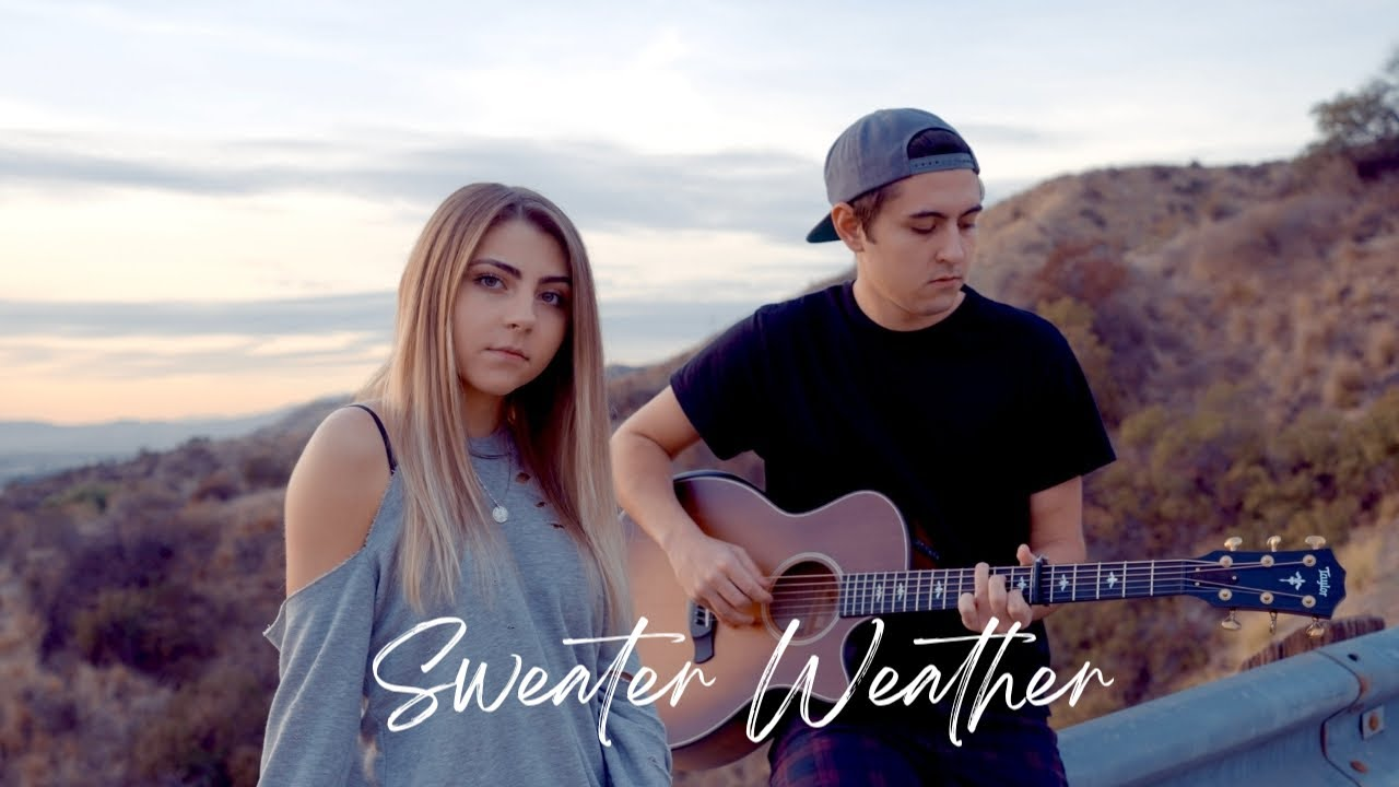 Sweater Weather by The Neighbourhood | acoustic cover by Jada Facer ft. Kyson Facer