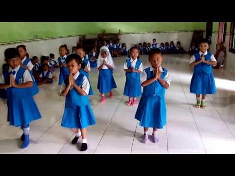 Gerak Tari dan lagu Versi Anak TK