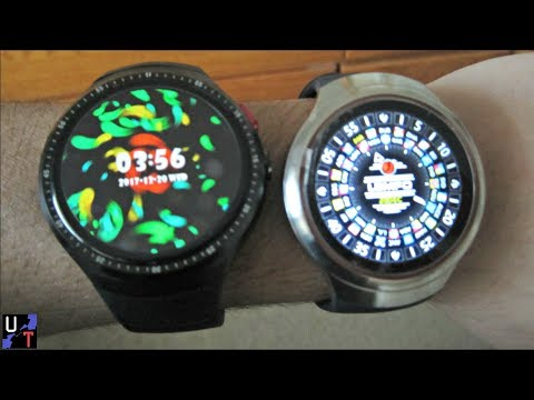 LEMFO LES1 Vs. LES2 Android Smartwatches Comparison! (Which I Prefer & Why!)