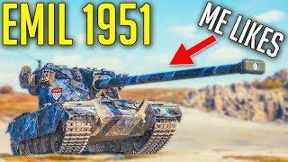 EMIL 1951 is Actually Good Premium Tank! ► World of Tank Reward Tank EMIL 1951 Review