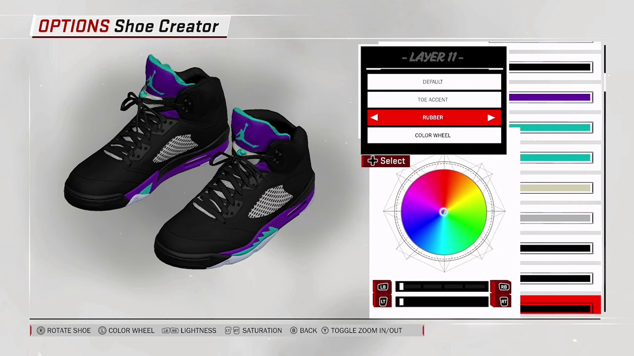 NBA 2K18 Shoe Creator - Air Jordan 5