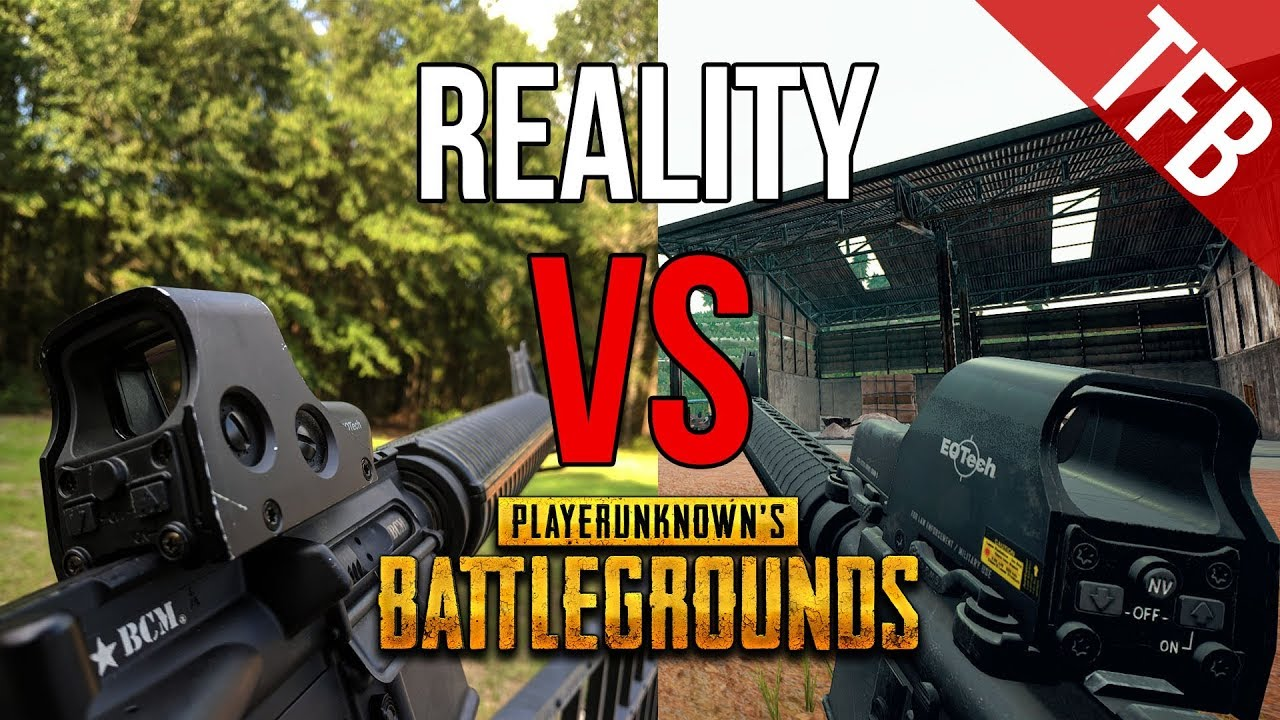 Playerunknown S Battlegrounds Weapons: The Real Life Weapons Of PUBG (PlayerUnknown's