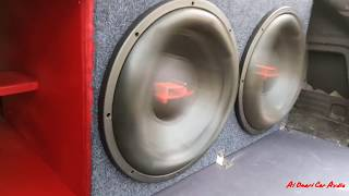 EXTREME POWER FLEX SUBWOOFER INSANE FI AUDIO SP4 15S!!! TARAMPS HD10.000