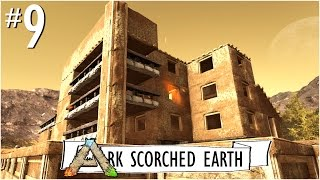 ADOBE VILLA MANSION (Part One) :: Ep. 9 :: Adobe House Build :: Ark Scorched Earth - UniteTheClans