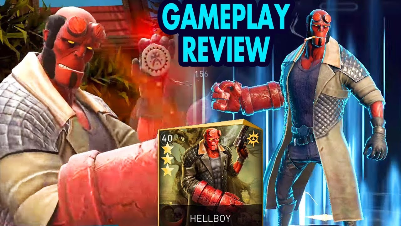 Injustice 2 Mobile  Hellboy Review + Gameplay  I expected much more from  him