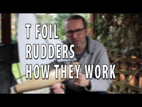 HOW DO T FOIL RUDDERS WORK