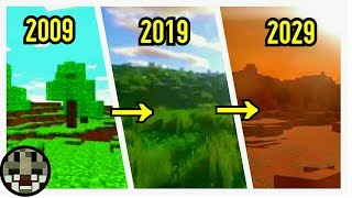 Minecraft Timeline - On The Road To Ten Years || Minecraft Evolution || AGCraft