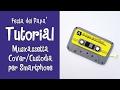 Tutorial - COVER/CUSTODIA MUSICASSETTA PER SMARTPHONE (FESTA DEL PAPA')