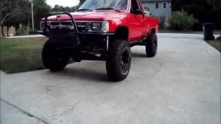 Toyota 4x4: Solid Axle Swap 3-link Build, Walk-Around and Flex