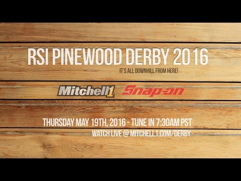 RSI Pinewood Derby 2016