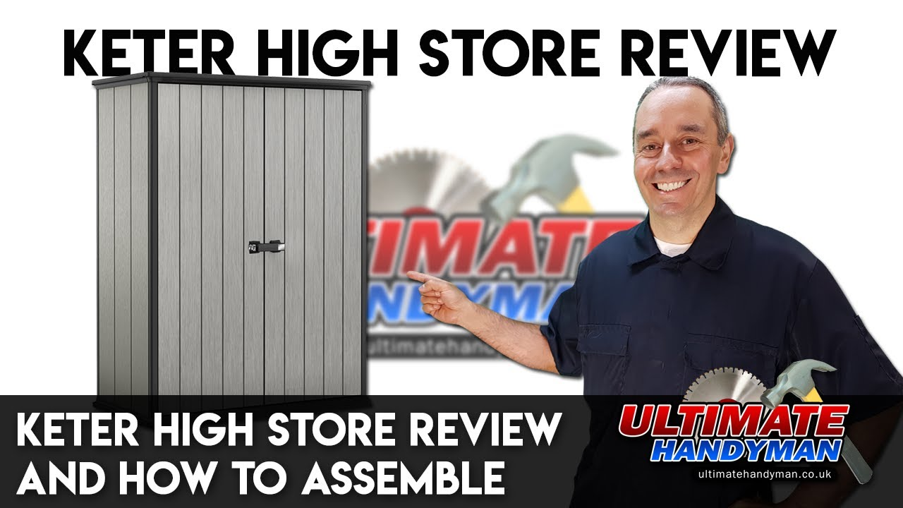 Zeer Keter High store review and how to assemble - YouTube XG35