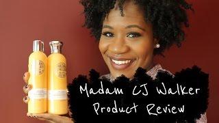Madam CJ Walker Natural Hair Product Review!