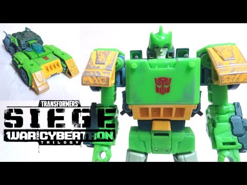 【Transformers WFC Siege 】SG-32 Springer Voyager Class wotafa's review from YouTube · Duration:  30 minutes 19 seconds