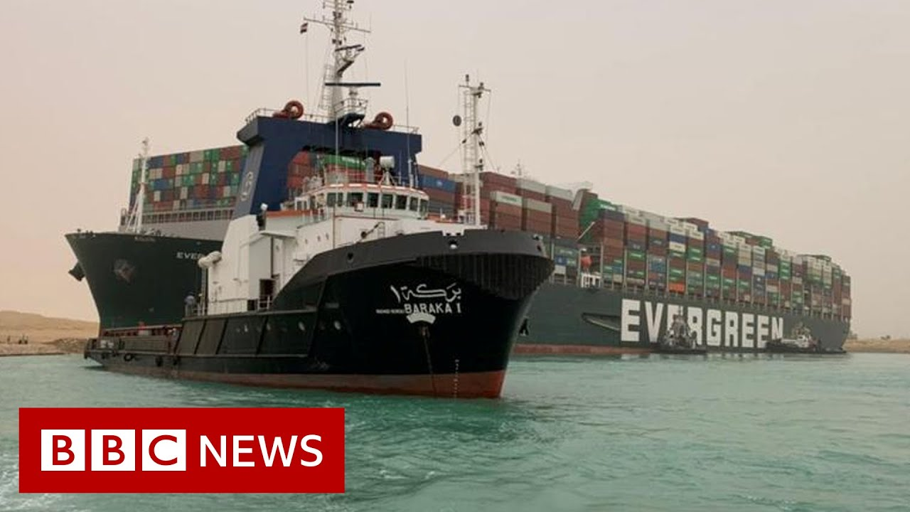 'A Very Big Problem.' Giant Ship in the Suez Remains Stuck.