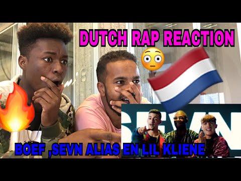 Sevn Alias ft. Lil Kleine & Boef - Patsergedrag [REACTION]