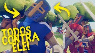 UM POR TODOS E TODOS CONTRA UM! | Totally Accurate Battle Simulator