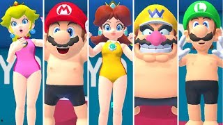 Mario & Sonic at the Tokyo 2020 Olympic Games - Swimming All Characters