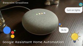 Google assistant voice control automation
