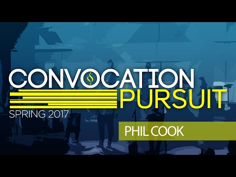 Convocation Spring 2017 with Phil Cook, Wednesday Night