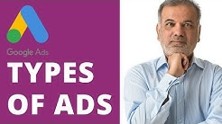 Types of Google Ads (Google AdWords)