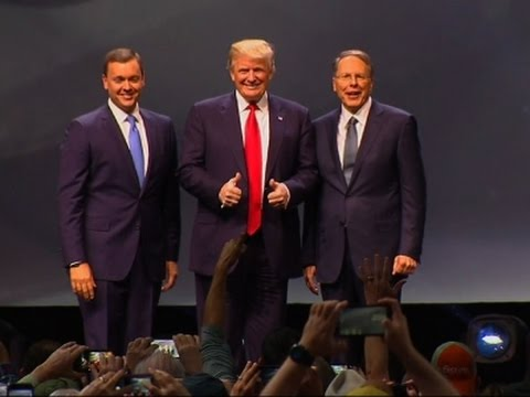 National Rifle Association Endorses Trump