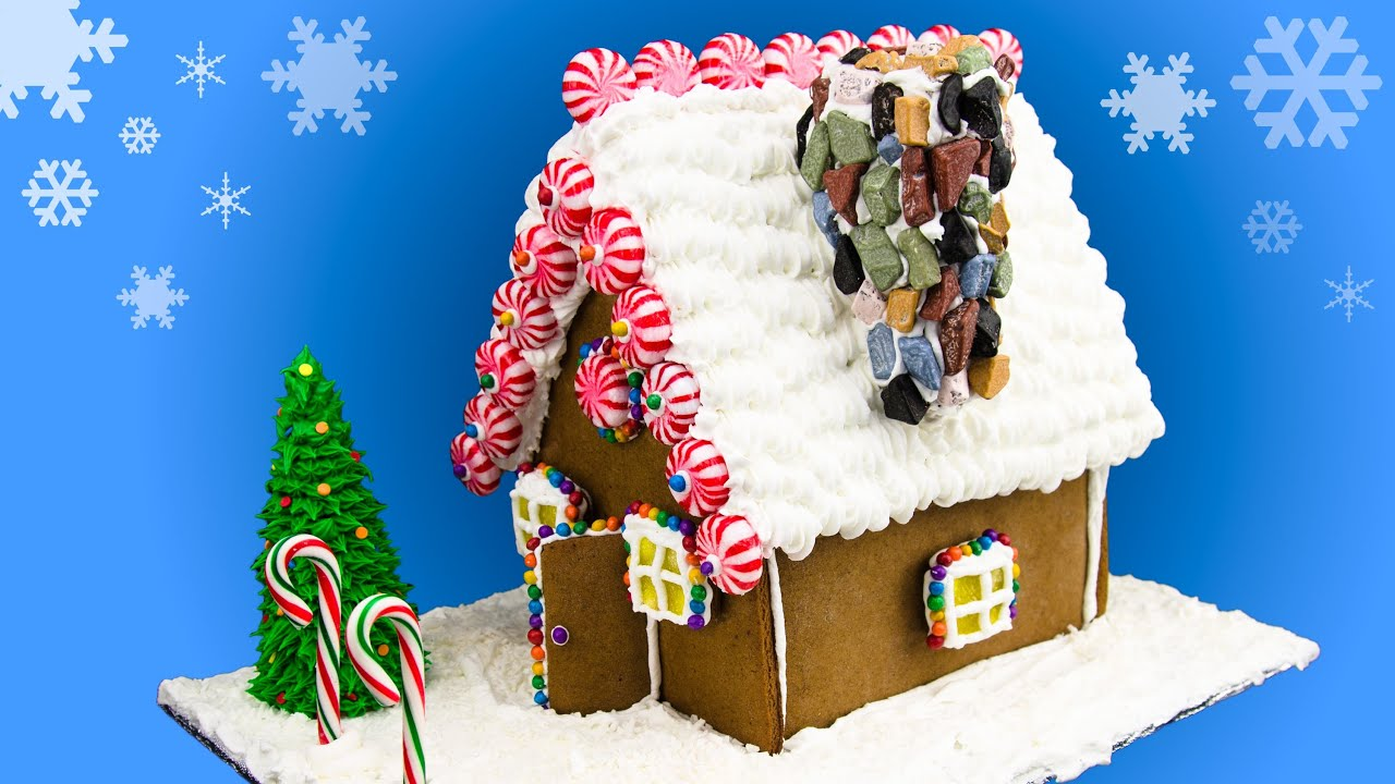 How To Make A Gingerbread House: Gingerbread House Recipe From Cookies  Cupcakes And Cardio   YouTube