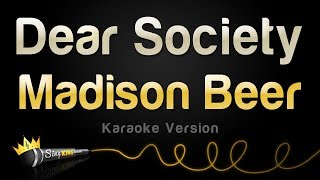 Madison Beer - Dear Society (Karaoke Version)