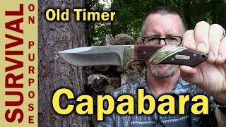 Schrade Old Timer 30OT Capybara Fixed Blade Knife Review