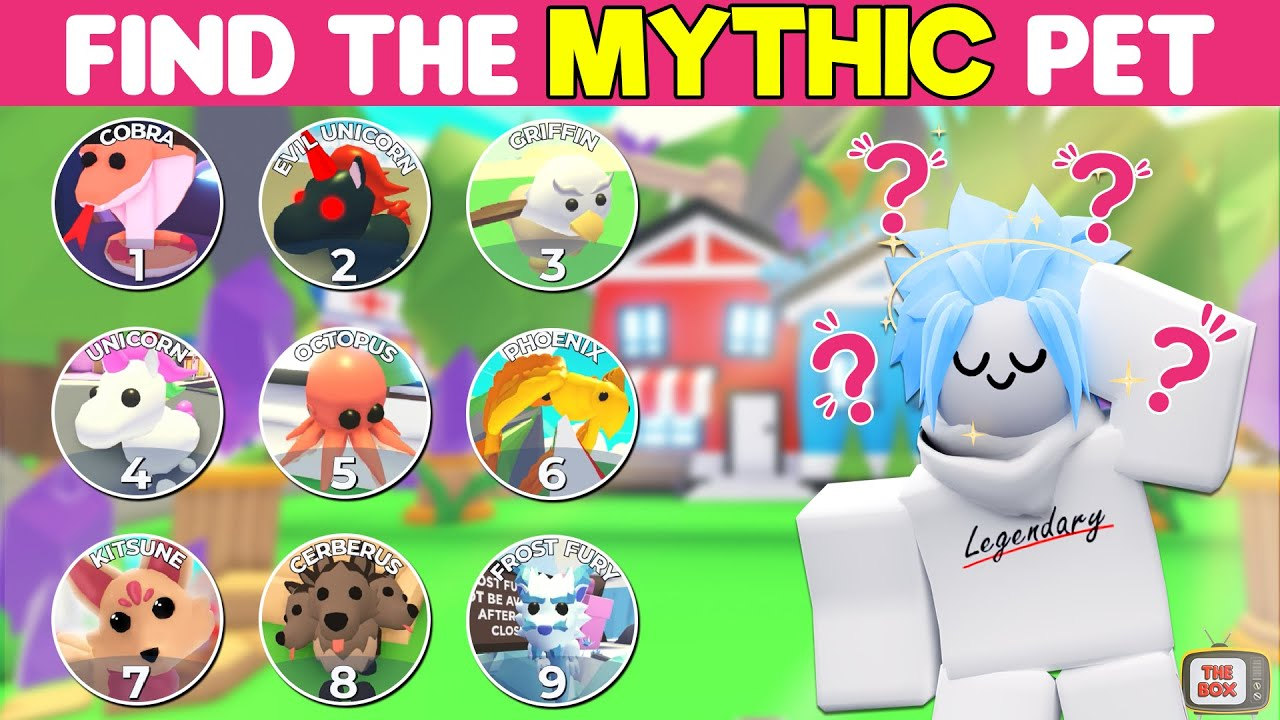 Can you BEAT this ADOPT ME QUIZ? Claim the LEGENDARY RANK (Roblox)