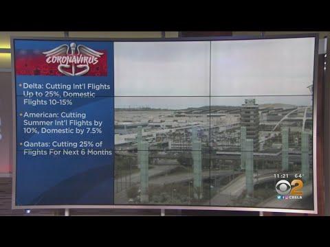 Airlines Trimming Summer Flights Due To Coronavirus
