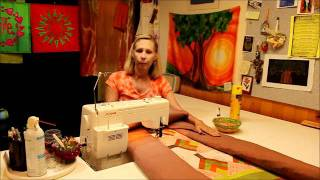 Repeat youtube video Stitch in the ditch - Machine quilting