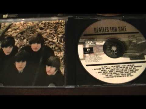 004 BEATLES FOR SALE OFFICIAL CD EDITIONS MY COLLECTION