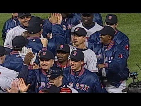 BOS@CWS: Red Sox clinch 1999 AL Wild Card