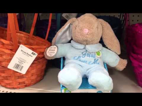 Jesus Loves Me Singing Blue Bunny Rabbit Easter Spring Baby Toy Video