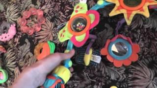 Обзор игрушек для малышей от 0 месяцев до 6 месяцев (пол года).