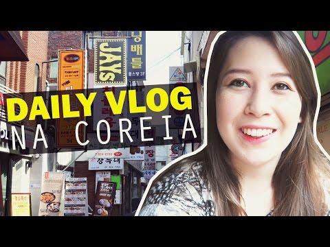 UM DIA COMIGO EM SEUL COREIA  Câmera de Vlog Canon G7X  MIDORI
