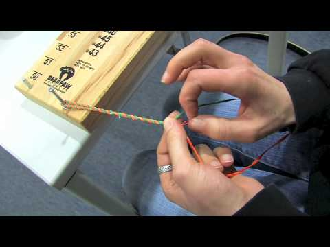 archery basics 15 how to make your own bow string english youtube