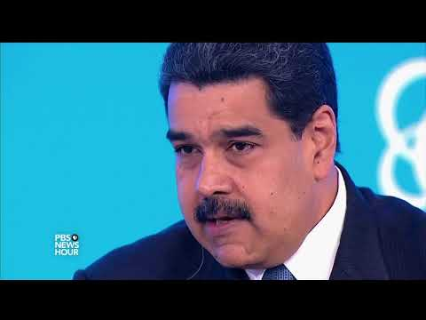 Maduro: Trump has 'no right' to joke about military action in Venezuela