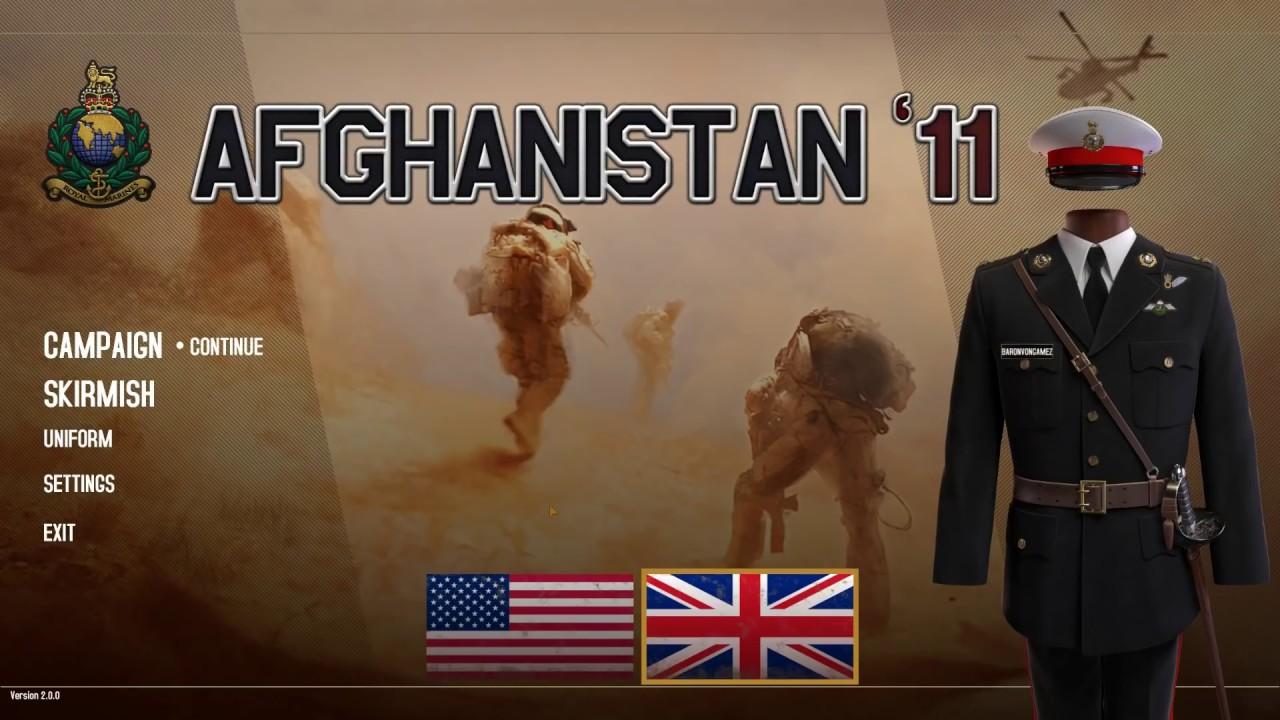 UNITED KINGDOM WINS THE WAR! (Afghanistan '11 Gameplay)