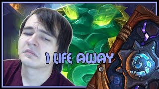 Hearthstone: 1 life away (jade druid)