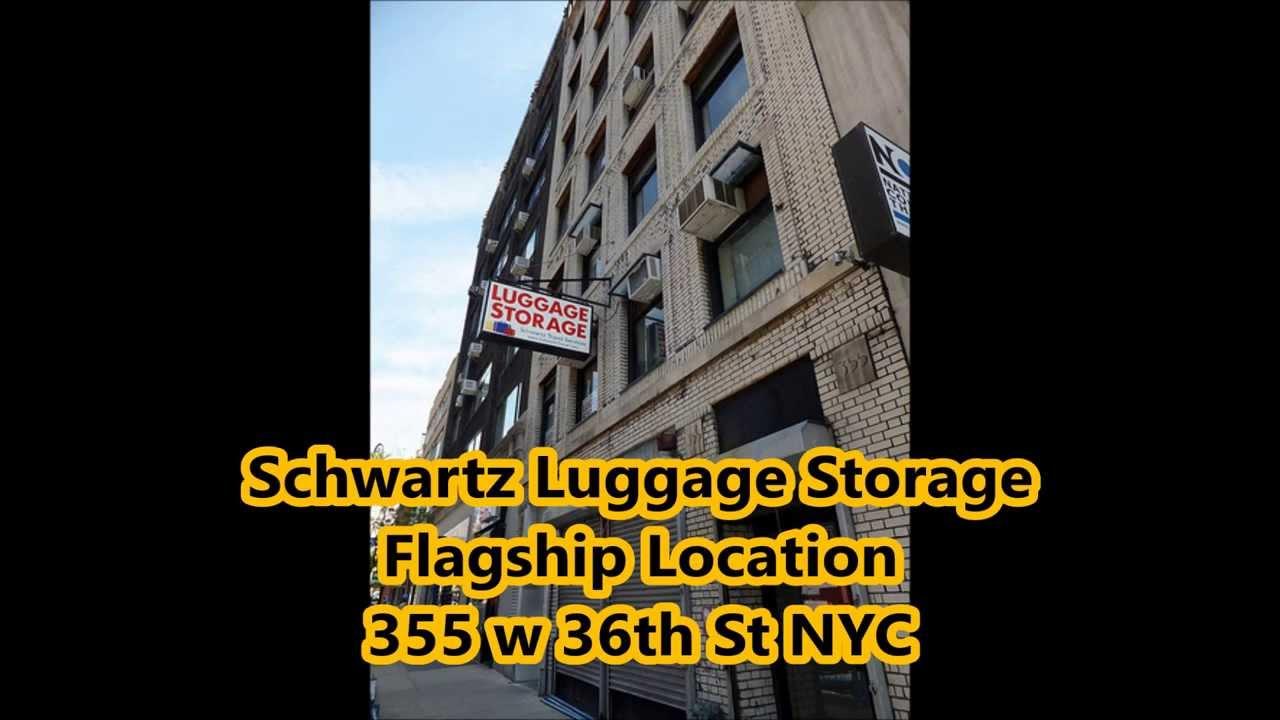 Luggage Storage NYC   YouTube
