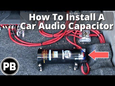 Car Capacitor Wiring Diagram Audio York Heat Pump Control Scosche Description Amplifier Installation How To Youtube Amplifiers Diagrams Two