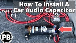 How to Install a Car Audio Capacitor in your Vehicle
