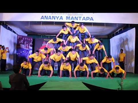 Human Pyramids | Janvey 2k14 | JNNCE