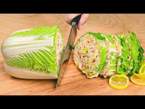 Гениальные САЛАТЫ готовлю на НОВЫЙ ГОД, 5 рецептов из ПЕКИНСКОЙ КАПУСТЫ - взорвут ваши РЕЦЕПТОРЫ