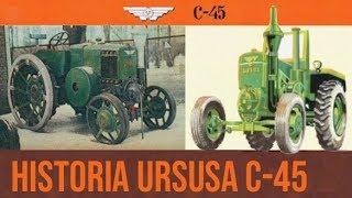 Historia ciągnika Ursus C-45 [Matheo780]