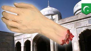 Remaja Pakistan mengiris tangannya yang menghujat Tuhan - TomoNews