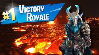 *NEW* VOLCANO GOD MODE GLITCH IN FORTNITE SEASON 8!! (battle royale)