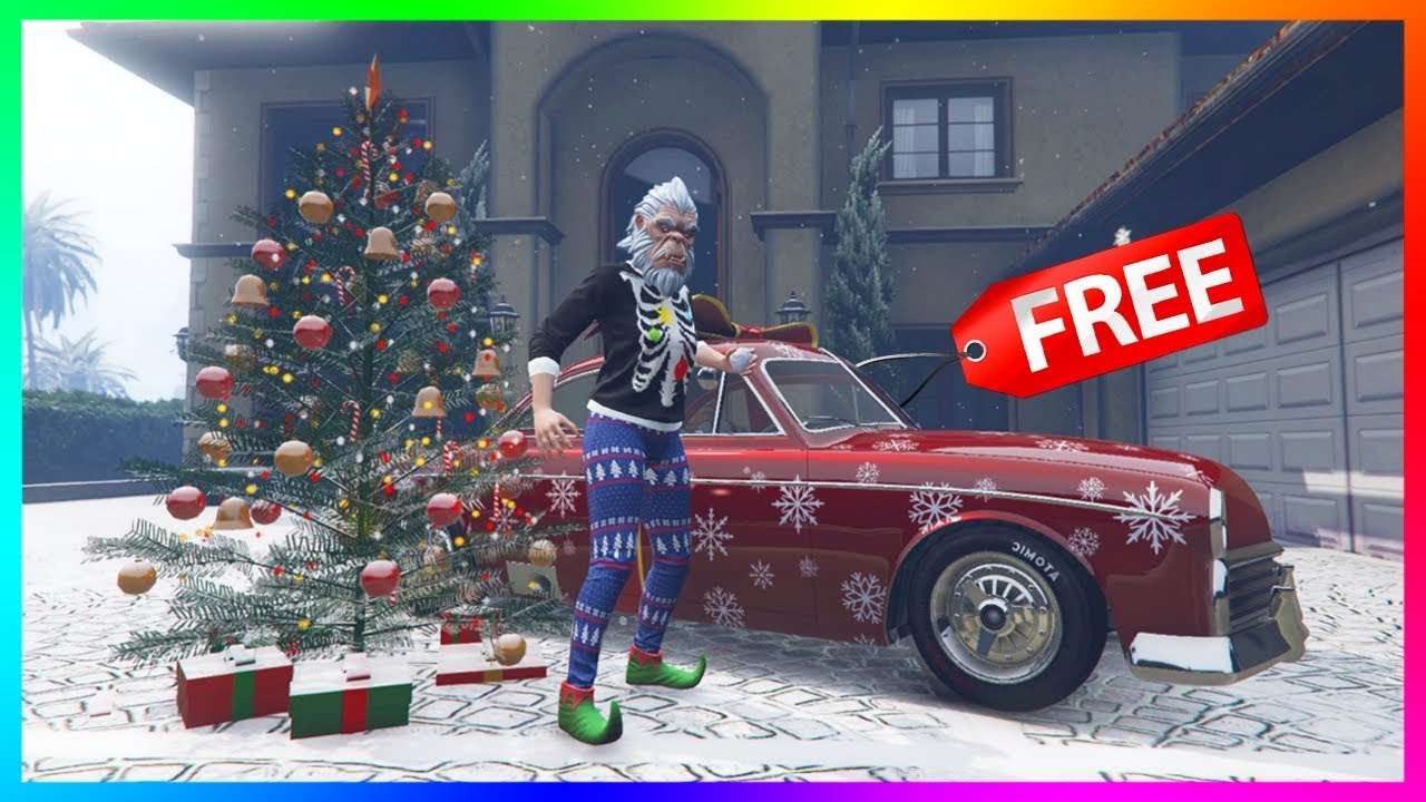 Christmas Updates Gtav 2020 GTA 5 Online   NEW UPDATE! Christmas Eve Gifts, FREE/Rare Items
