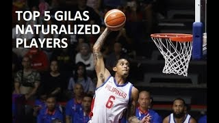 Top 5 Gilas Pilipinas Naturalized Player Options for the 2019 FIBA World Cup